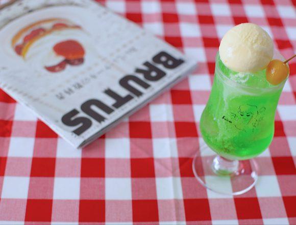 京都『喫茶ソワレ』のグラス