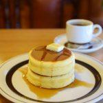 大山『ピノキオ』のホットケーキ|東京カフェ