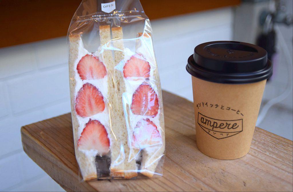 青山『アンペア-ampere-』のフルーツサンド|東京カフェ