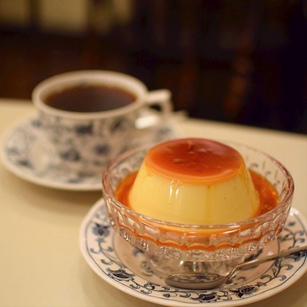 新橋『ヘッケルン』のジャンボプリン|東京カフェ