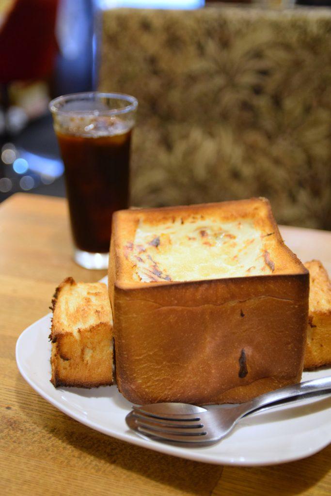 鶯谷『喫茶デン』のグラパン|東京カフェ