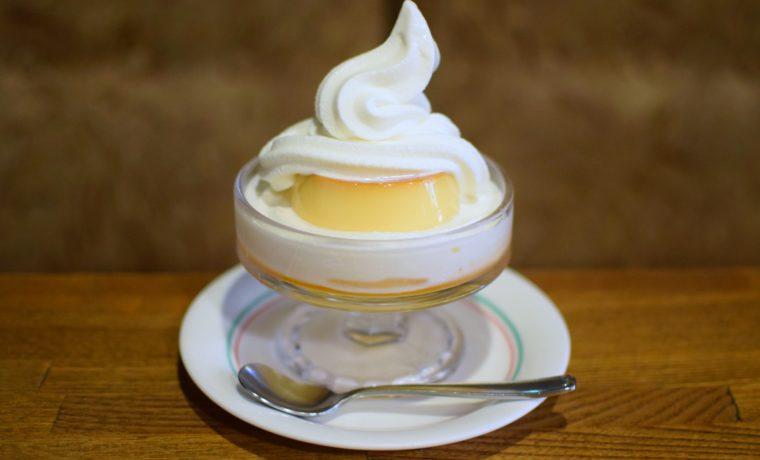 鶯谷『喫茶デン』のプリン|東京カフェ