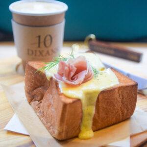 人形町『DIXANS人形町』の厚切りチーズトースト 東京カフェ
