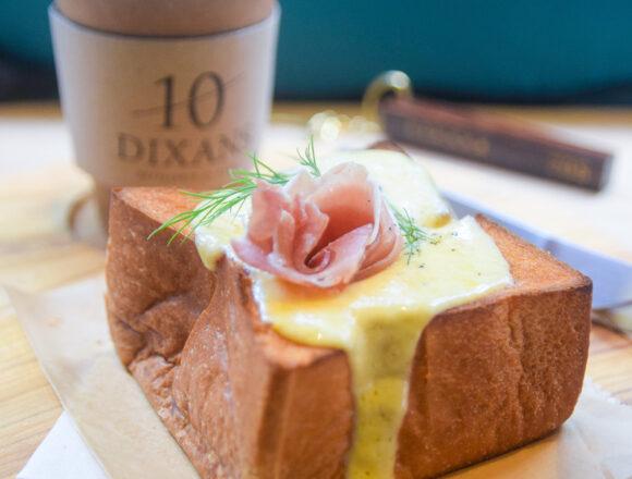 人形町『DIXANS人形町』の厚切りチーズトースト|東京カフェ