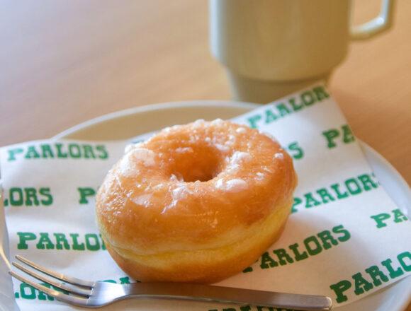 馬喰横山『Parlors パーラーズ』のシュガードーナッツ|東京カフェ